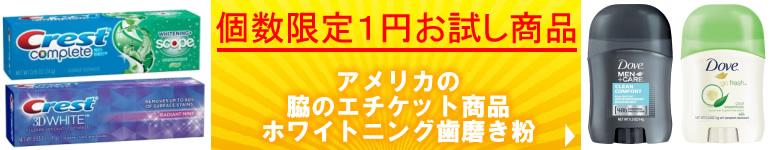個数限定1円お試し商品