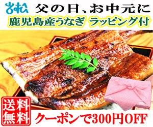 鹿児島産うなぎ特大1尾+刻み鰻