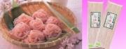 桜そうめん 桜香る滝桜の町の特産品