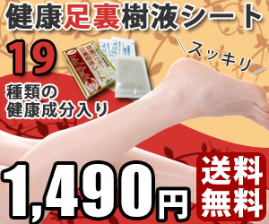 日本製 健康足裏樹液シート 30枚